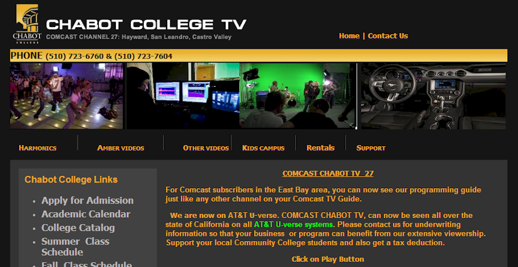 Chabot College Tv Cosmic Cafe Show