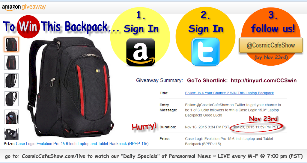 Win This Case Logic Backpack